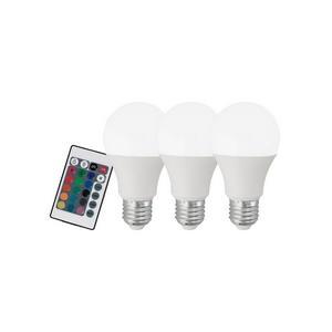 Комплект из 3 ламп светодиодных диммируемых с пультом ДУ Eglo A60 10681
