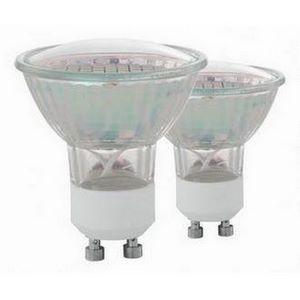 Комплект из 2 ламп светодиодных SMD GU10 50Вт 3000K 11427