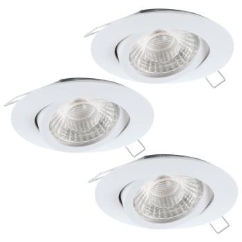 Комплект из 3 встраиваемых светильников Eglo Tedo 1 95357