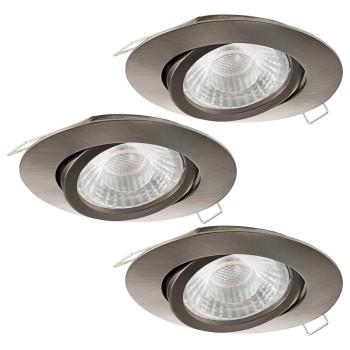 Комплект из 3 встраиваемых светильников Eglo Tedo 1 95359