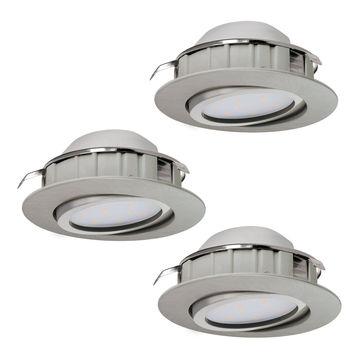 Комплект из 3 встраиваемых светильников Eglo Pineda 95859