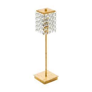 Настольная лампа декоративная Pyton Gold 97725
