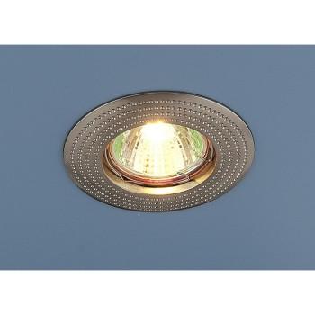 Встраиваемый светильник Elektrostandard 601 MR16 SN сатин никель