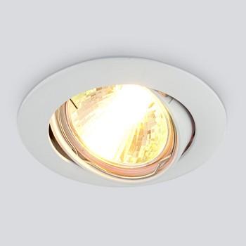 Встраиваемый светильник Elektrostandard 104S MR16 WH белый