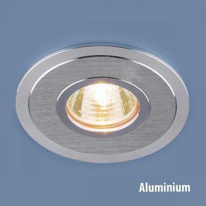 Встраиваемый светильник Elektrostandard 2016 MR16 SCH сатин хром