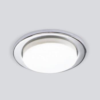Встраиваемый светильник Elektrostandard 1035 GX53 CH хром