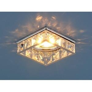Встраиваемый светильник Elektrostandard 7274 MR16 CH/CL хром/прозрачный