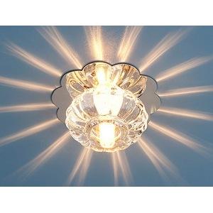 Встраиваемый светильник Elektrostandard 847 G4 CH/CL хром/прозрачный