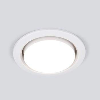 Встраиваемый светильник Elektrostandard 1035 GX53 WH белый
