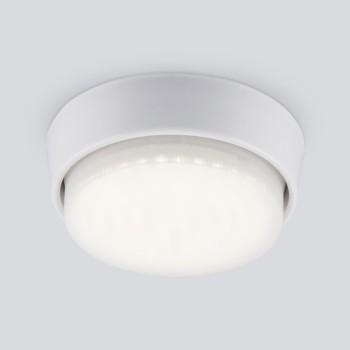 Встраиваемый светильник Elektrostandard 1037 GX53 WH белый