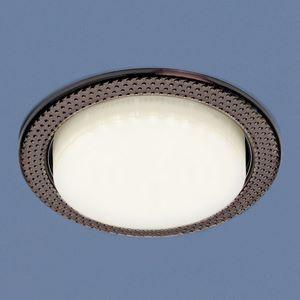 Встраиваемый светильник Elektrostandard 1066 GX53 SB бронза