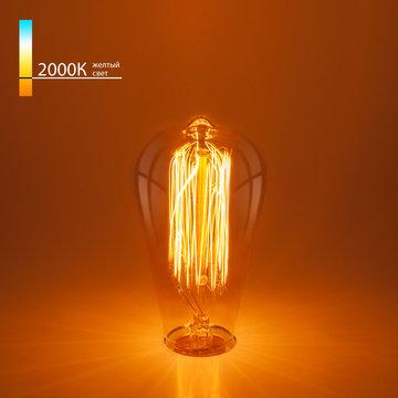 Лампа накаливания Elektrostandard ST64 60W a034964