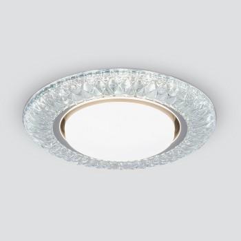 Встраиваемый светильник Elektrostandard 3020 GX53 CL прозрачный