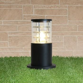 Наземный низкий светильник Elektrostandard Techno 1508 TECHNO черный черный