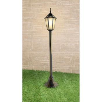Наземный высокий светильник Elektrostandard GL 1014 GL 1014F черное золото