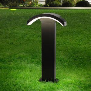 Наземный низкий светильник Elektrostandard Asteria TECHNO 1677 LED Asteria F черный