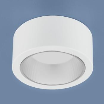 Встраиваемый светильник Elektrostandard 1070 GX53 WH белый