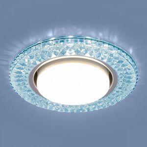 Встраиваемый светильник Elektrostandard 3021 GX53 BL лазурный