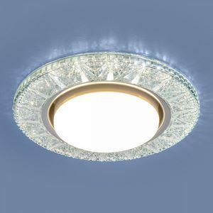 Встраиваемый светильник Elektrostandard 3022 GX53 CL прозрачный