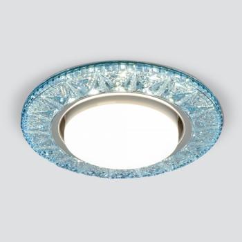 Встраиваемый светильник Elektrostandard 3022 GX53 BL лазурный