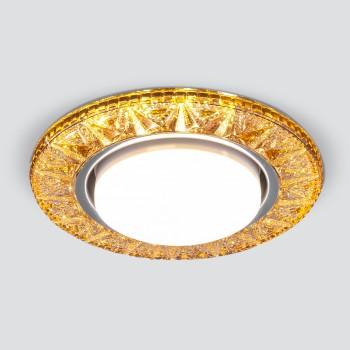 Встраиваемый светильник Elektrostandard 3022 GX53 GD золото