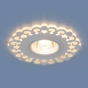 Встраиваемый светильник Elektrostandard 2196 MR16 WH белый