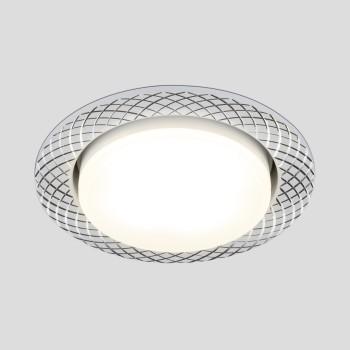 Встраиваемый светильник Elektrostandard 1071 GX53 WH белый