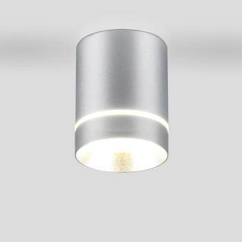 Накладной светильник Elektrostandard DLR021 9W 4200K хром матовый