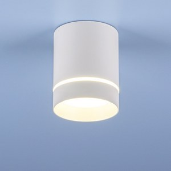 Накладной светильник Elektrostandard DLR021 9W 4200K белый матовый