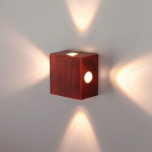 Накладной светильник Elektrostandard TECHNO LED Kvatra 1601 TECHNO LED Kvatra красно - черный