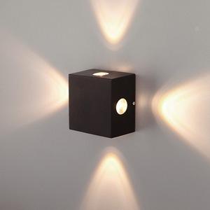 Накладной светильник Elektrostandard TECHNO LED Kvatra 1601 TECHNO LED Kvatra черный