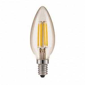 Лампа светодиодная Elektrostandard Bl131 E14 7Вт 3300K Свеча BL131 7W 3300K E14 (C35 прозрачный)