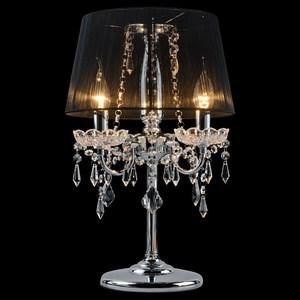 Настольная лампа Eurosvet 2045 2045/3T хром/черный настольная лампа