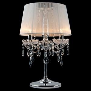 Настольная лампа Eurosvet 2045 2045/3T хром/белый настольная лампа