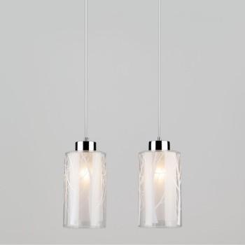 Подвесной светильник Eurosvet 50001 50001/2 хром