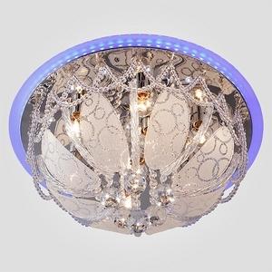 Накладной светильник Eurosvet Галоген 80100/8 хром/голубой