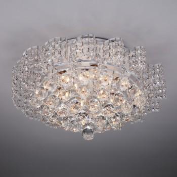 Накладной светильник Eurosvet Charm 16017/9 белый с серебром Strotskis