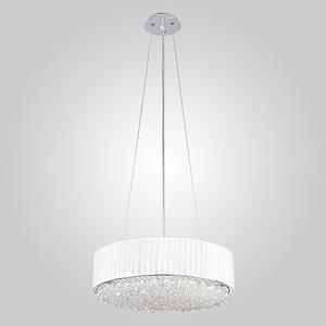 Подвесной светильник Eurosvet Elegance 10071/4 хром Strotskis