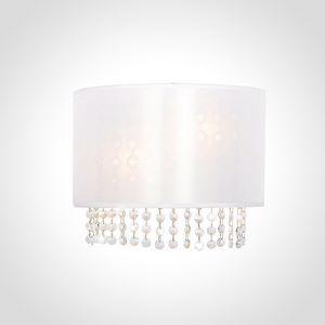 Накладной светильник Eurosvet 10070 10070/2 хром/белый Strotskis