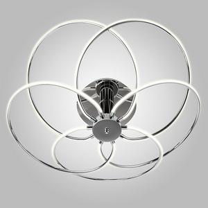 Накладной светильник Eurosvet 90039 90039/5 хром