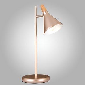 Настольная лампа декоративная Eurosvet 1012 01012/1 перламутровое золото