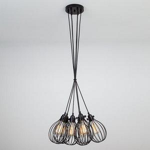 Подвесной светильник Eurosvet 50059 50059/6 черный