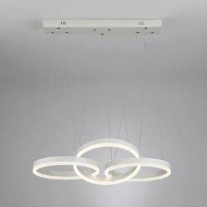 Подвесной светильник Мегаполис Integro 90070/3 белый 44W