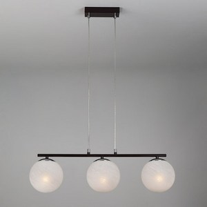 Подвесной светильник Eurosvet 70069 70069/3 хром/черный