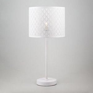Настольная лампа декоративная Snowy 01018/1 белый