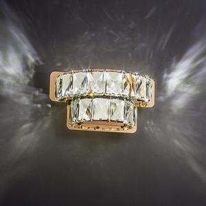 Накладной светильник Grasia 90059/2 золото 10W