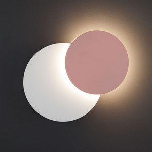 Накладной светильник Figure 40135/1 белый/розовый 6W