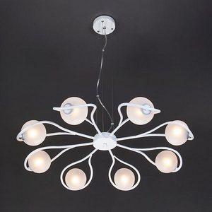 Подвесная люстра Camomile 70089/8 белый с серебром