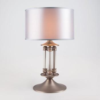Настольная лампа декоративная Adagio 01045/1 сатин-никель