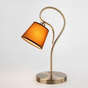 Настольная лампа декоративная Lilly 01047/1 античная бронза